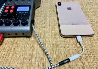 P4とiPhoneの接続